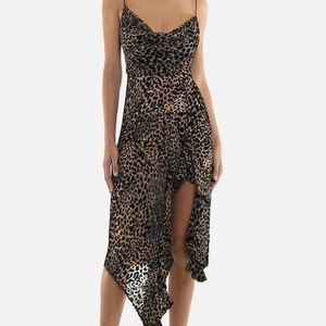 Misha Collection Emilia Midi Dress XS / US 2
